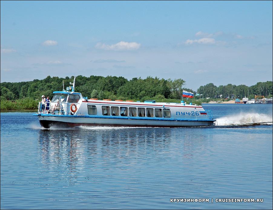 С 2020 года на Селигере будут работать скоростные суда с Волги — «Луч-2» и «Луч-26»